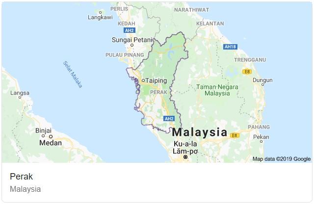 Perak Maps