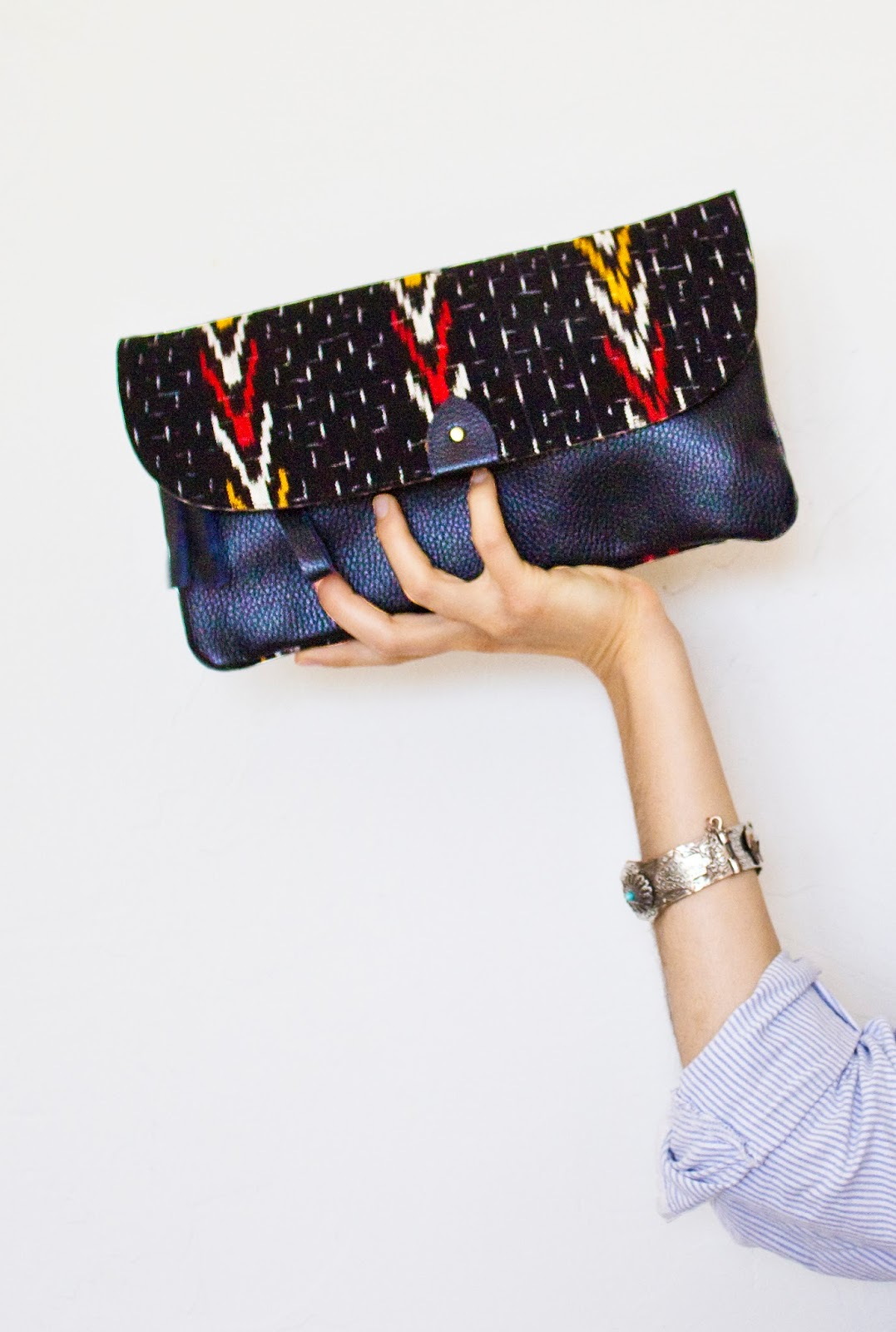 eco leather, fair trade fashion, ethical fashion, ethical fashion blog, ethical fashion editorial, tribal clutch, India fair trade