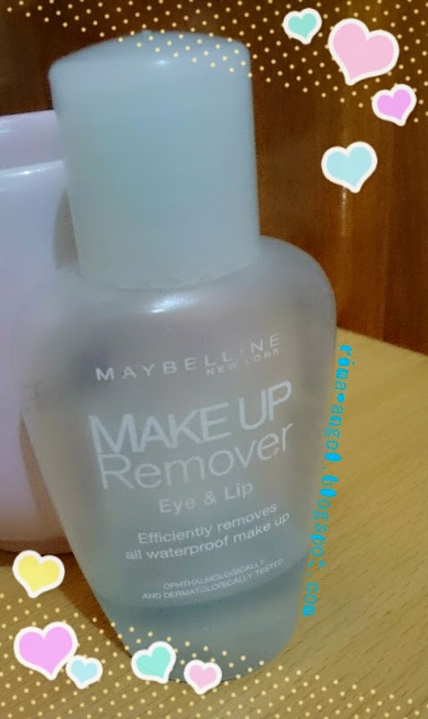 Review Maybelline Make Up Remover Eye & Lip