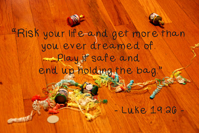 Luke 19:26 New Years Eve