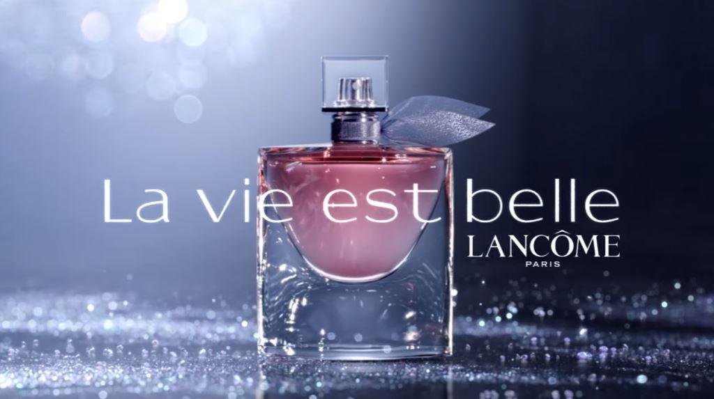 Canzone Lancome La vie est belle Pubblicità profumo femminile