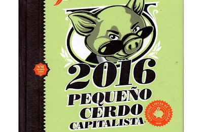Libro agenda pequeño cerdo capitalista