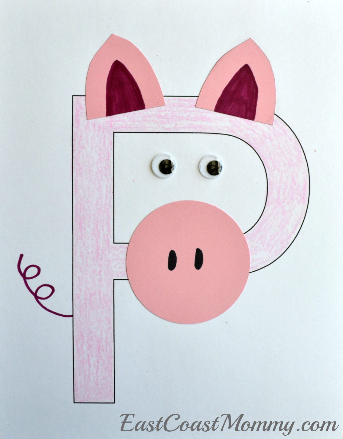 Farm Animals Art And Craft For Preschool