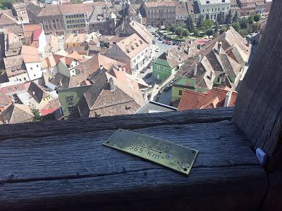 Sigisoara, pogled sa tornja