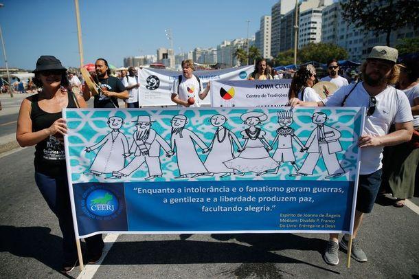 Rio de Janeiro tem ato contra intolerância religiosa