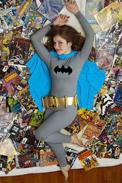 classic bat girl cosplay costume