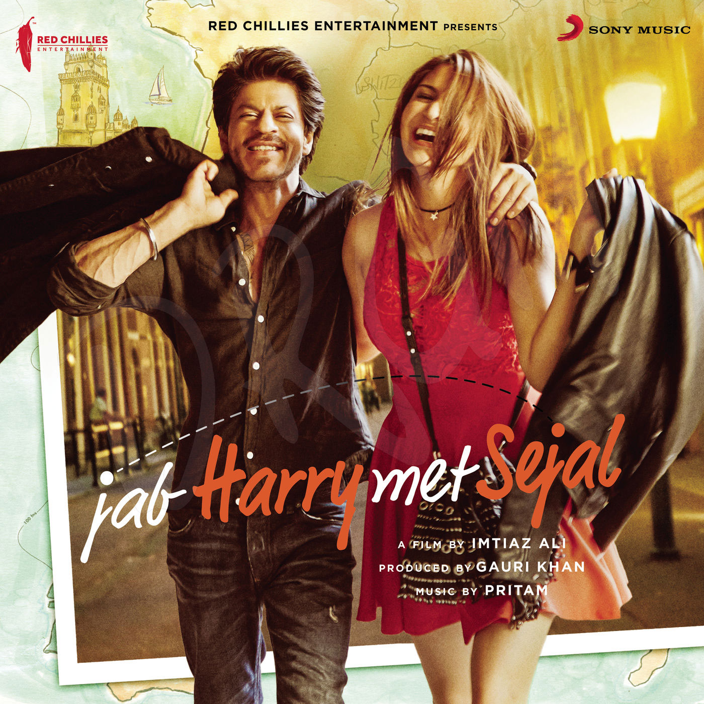 Jab-Harry-Met-Sejal-(2017)-Original-Album-Front-Cover-Poster-wallpaper-New-HD