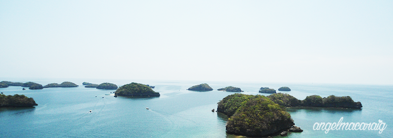 View of Hundred Islands
