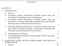 Contoh Silabus PAI SMA/SMK Kurikulum 2013 Terbaru