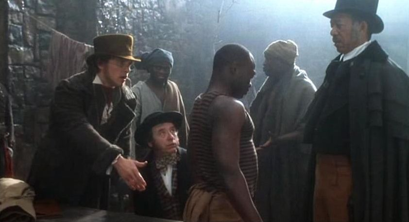 a movie analysis of amistad by steven spielberg Steven spielberg's amistad 1997) a popular movie such as amistad is not held out as a documentary but is instead a mix of entertainment and history.