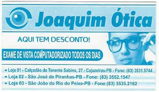 5769ee0072217 A MAIS NOVA OTICA DE CAJAZEIRAS DO GRUPO ÓTICAS BOA VISTA NO CALÇADÃO DA  TENENTE SABINO