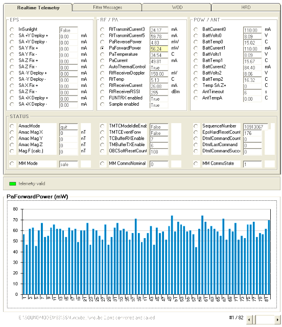 FUNcube-2 telemetry decoder