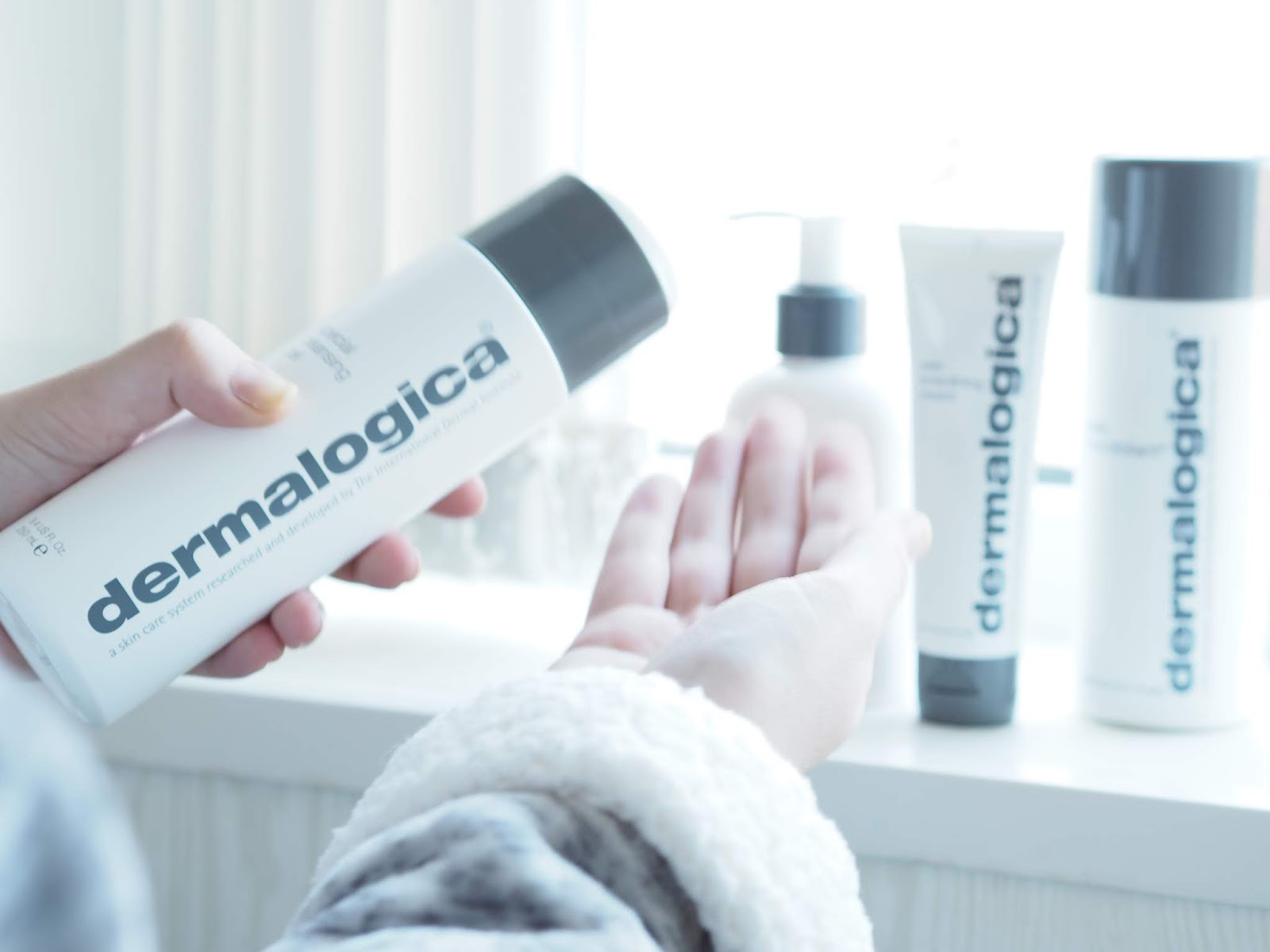 dermalogica skin care blog review skinfluencer