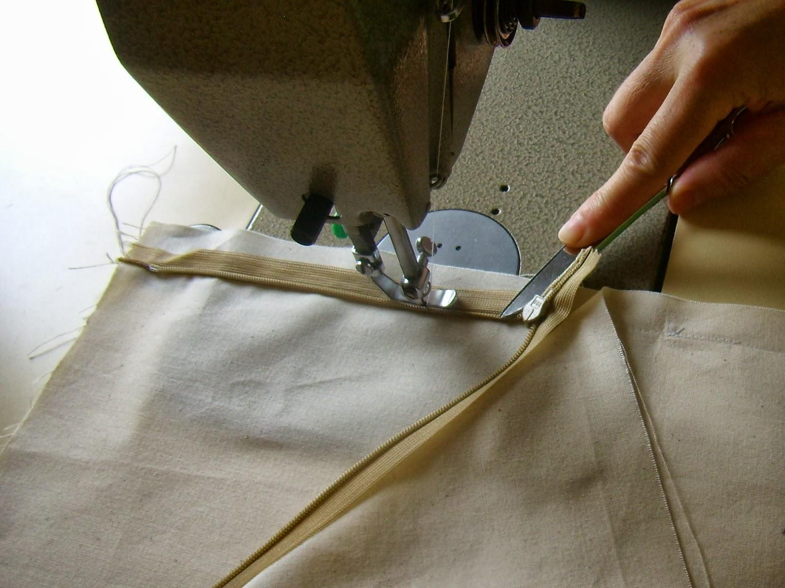 Costura De Fecho Ou Ziper Invisível Passo A Passo Em Imagens