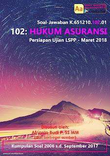 Tutorial LSPP 102 - Hukum Asuransi - Maret 2018