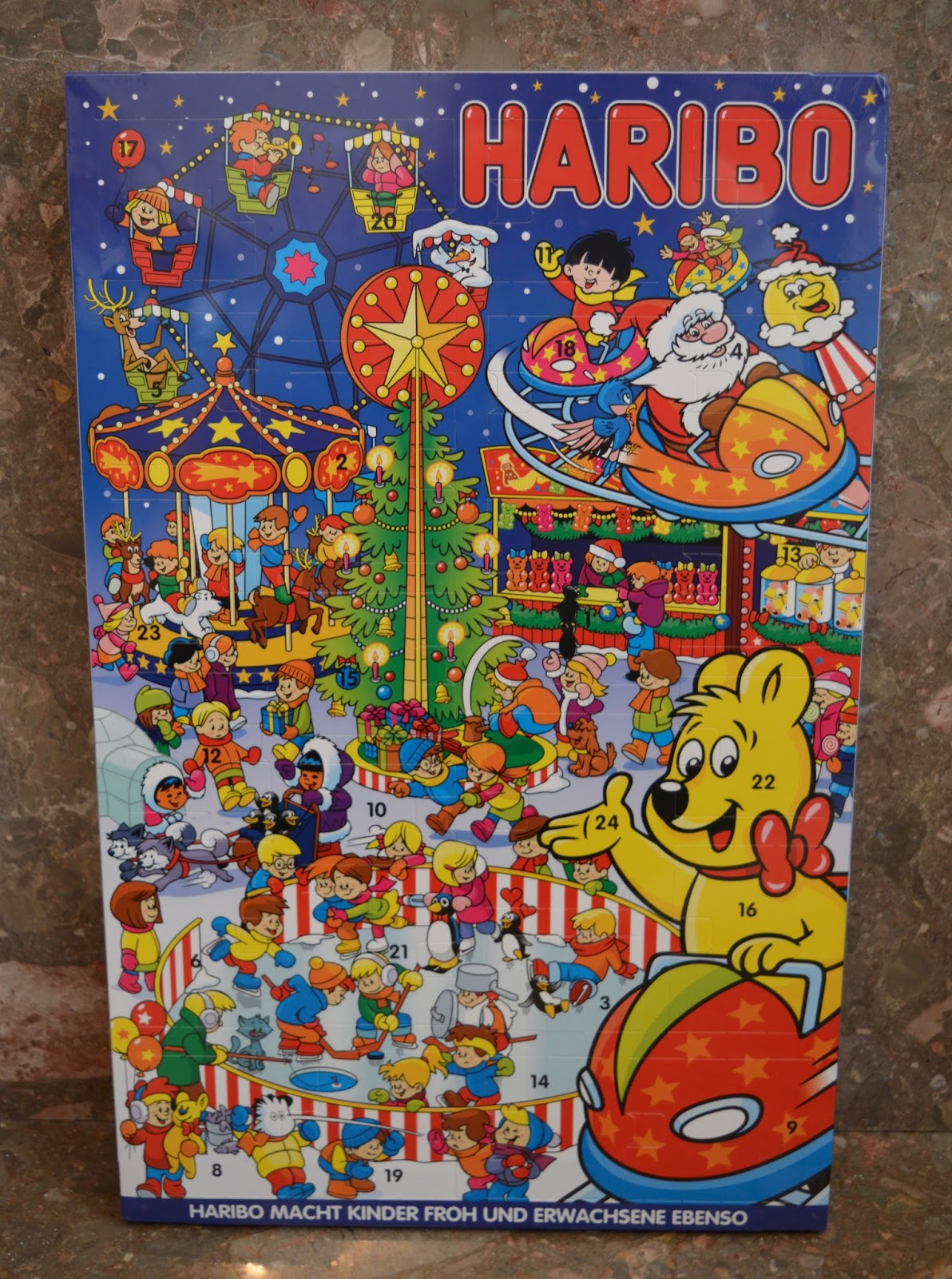 HARIBO Advent Calendar 2017 Review - Take a Peek Inside