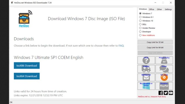 Windows ISO Downloader Download Free for Windows 7, 10, 8 1