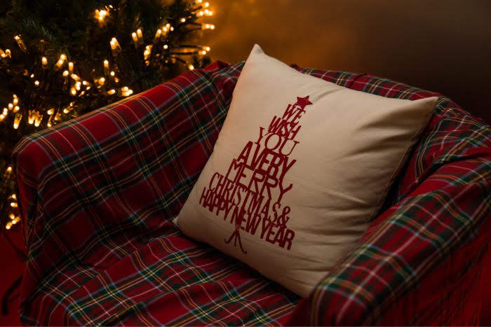 decoração de Natal VISI VICI