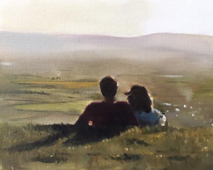 Британский художник. James Coates