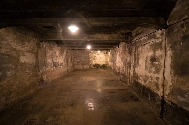 Camera a gas-Campo di concentramento di Auschwitz