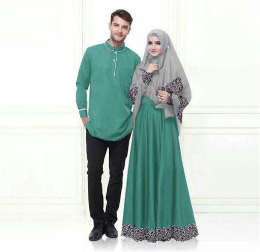 Model Baju Muslim Couple Suami istri dan Pasangan Terbaru 2017/2018