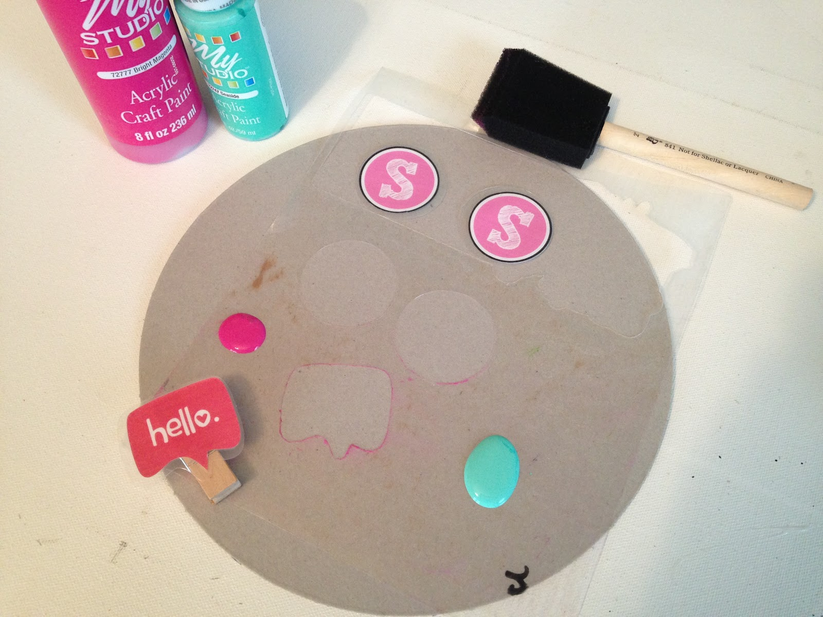 DIY Reusable Stencils with Silhouette (The I-Bet-You-Didn't