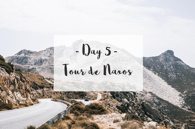 TRIP IN GREECE : LES CYCLADES - NAXOS