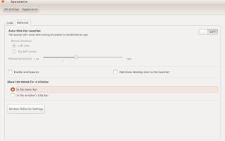 merubah posisi menu di ubuntu