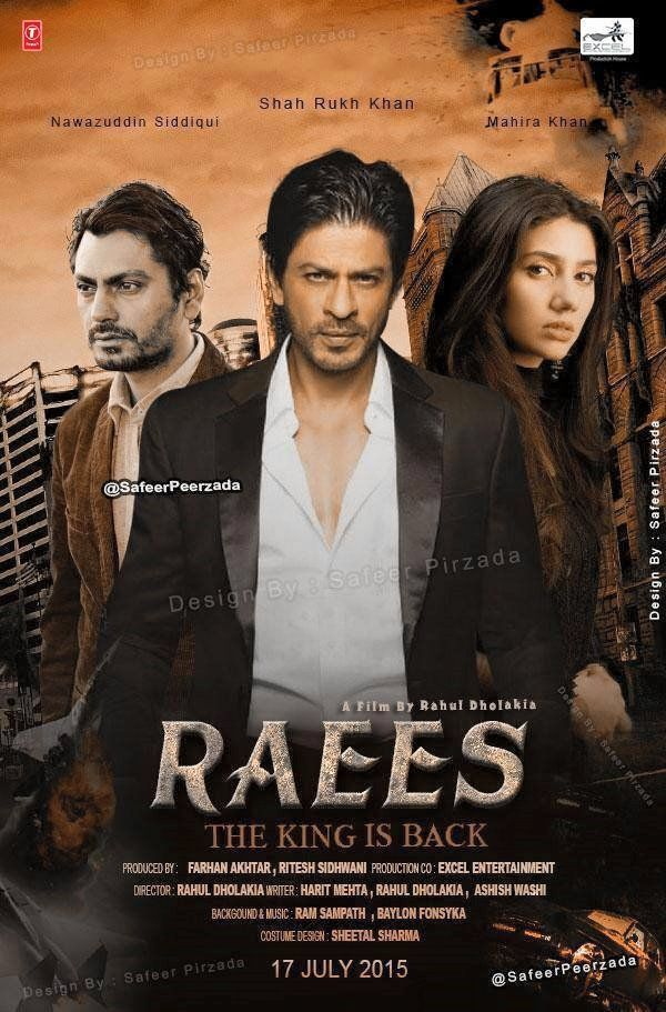 Nawazuddin Siddiqui, Shahrukh Khan, Farhan Akhtar Next Upcoming film Raees 2015-16 Wiki, Poster, Release date, Songs list