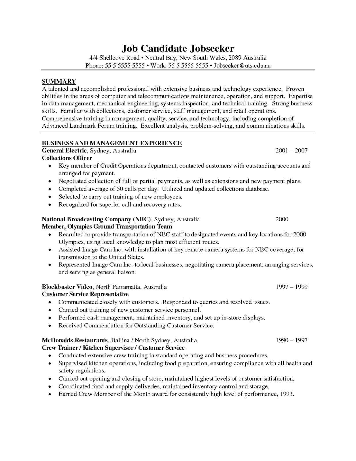 example of a resume for first job resume format for job application first time