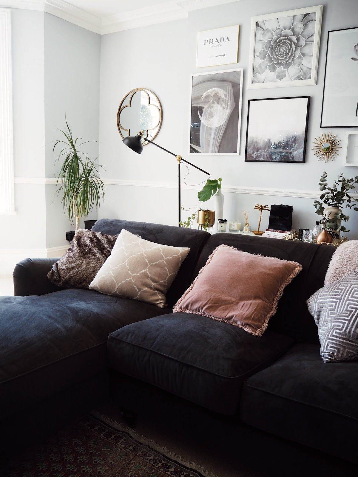 INTERIOR UPDATES | LIVING ROOM TOUR