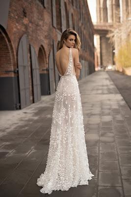 Vestidos de novia con encajes 2018
