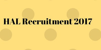 hal recruitments 2017