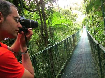 Puente Colgante en Monteverde
