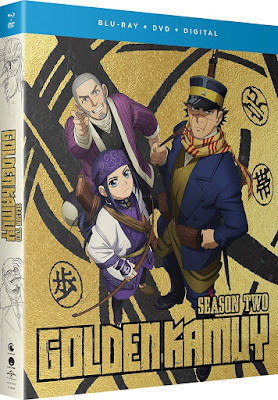 Golden Kamuy Season 2 Dvd Bluray