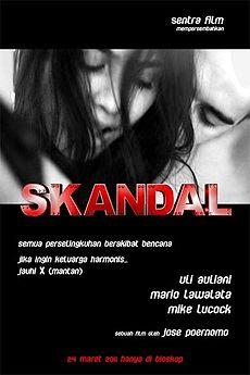 Poster Film Skandal (2011)