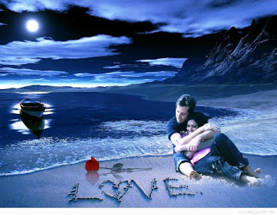 Wallpaper Gambar Love Romantis