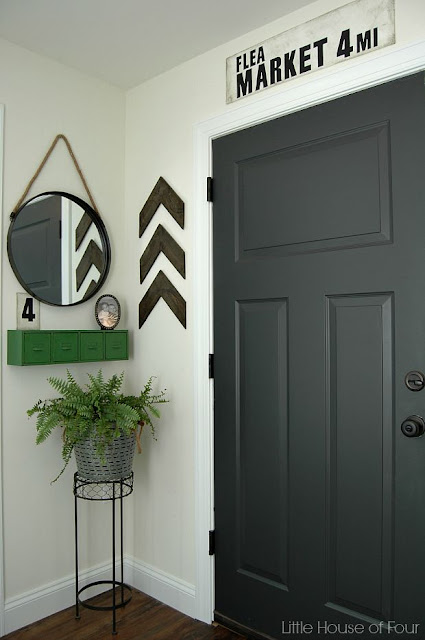 A Thrifty DIY mudroom reveal - Little House of Four