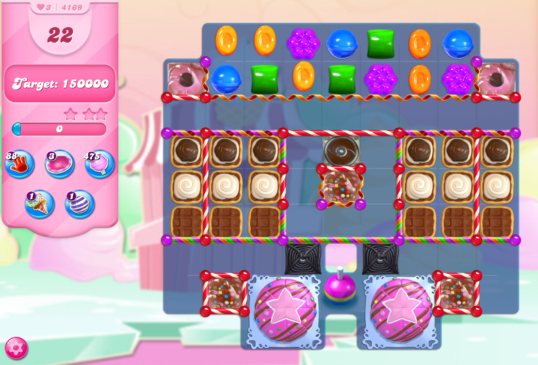 Candy Crush Saga level 4169