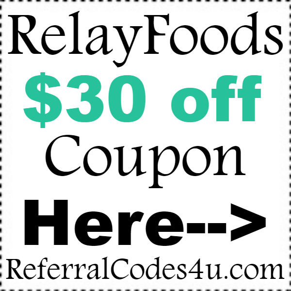 Relay Foods Coupons Codes 2020, RelayFoods.com Sign Up Bonus October, November, December