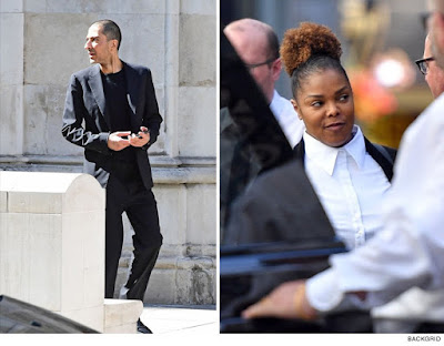 Janet Jackson and estranged Husband meet in Court in London for divorce hearing