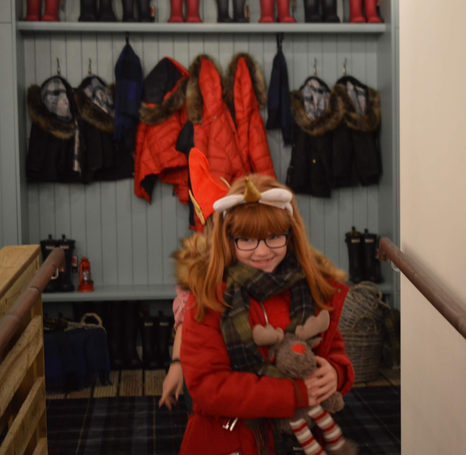 Santa on the Rooftop at Fenwick Newcastle   A Review  - barbour catwalk