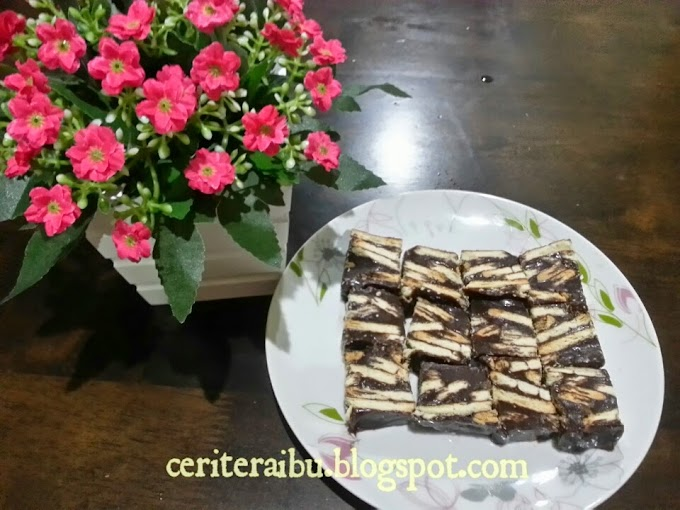 Resepi :: Kek Batik yg Sedap dan Senang Sangat!!