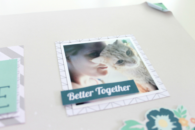 You & Me | Scrapbooking Layout