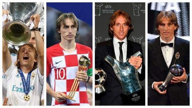 Luka Modric Pemenang Ballon d'Or 2018 Akhiri Dominasi Messi-Ronaldo