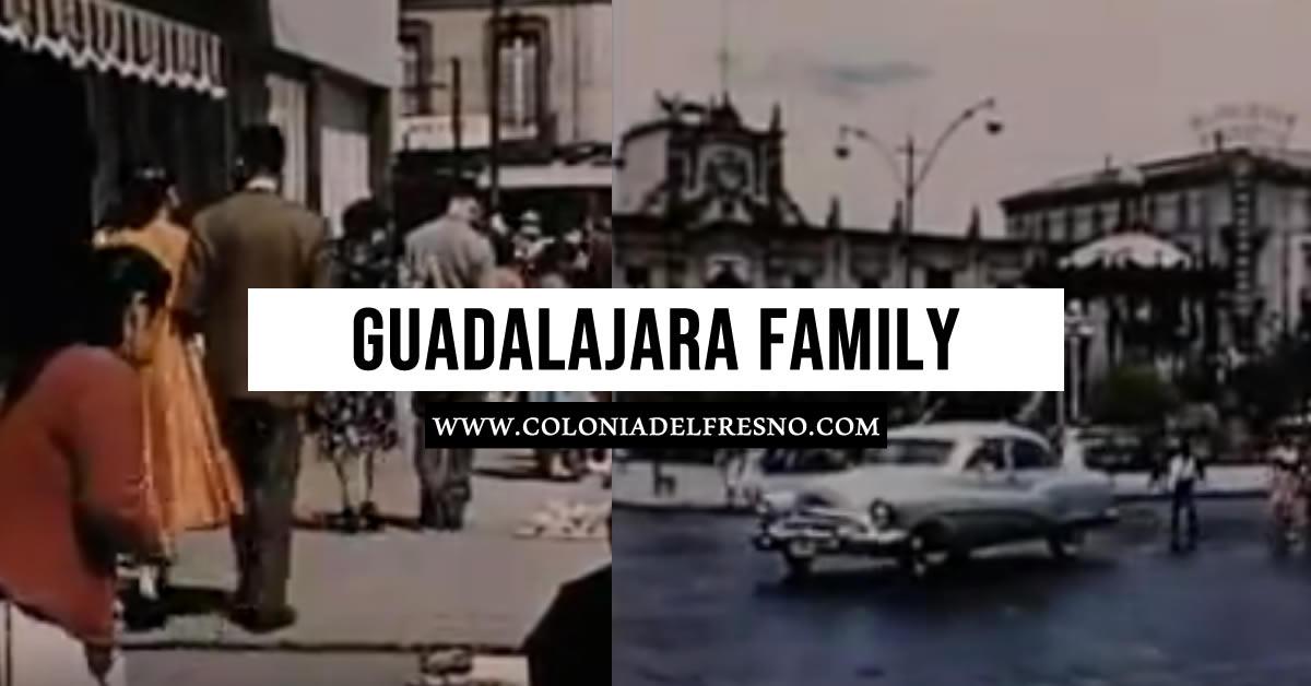 Documental de la ciudad de Guadalajara y una de sus familias en 1958