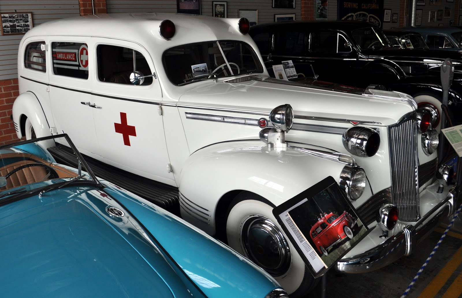 Just A Car Guy: 1942 Packard Henney ambulance, only 16000