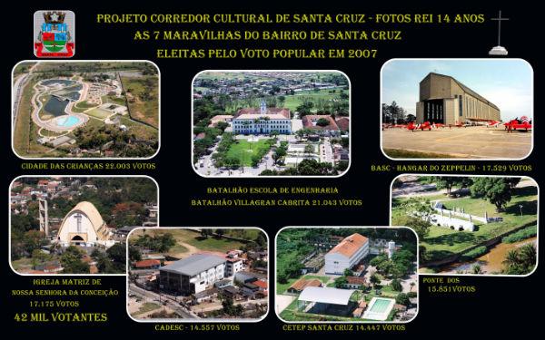 Vôce conhece o Projeto Corredor Cultural de Santa Cruz?