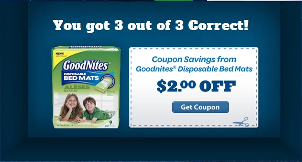 Coupon for GoodNites