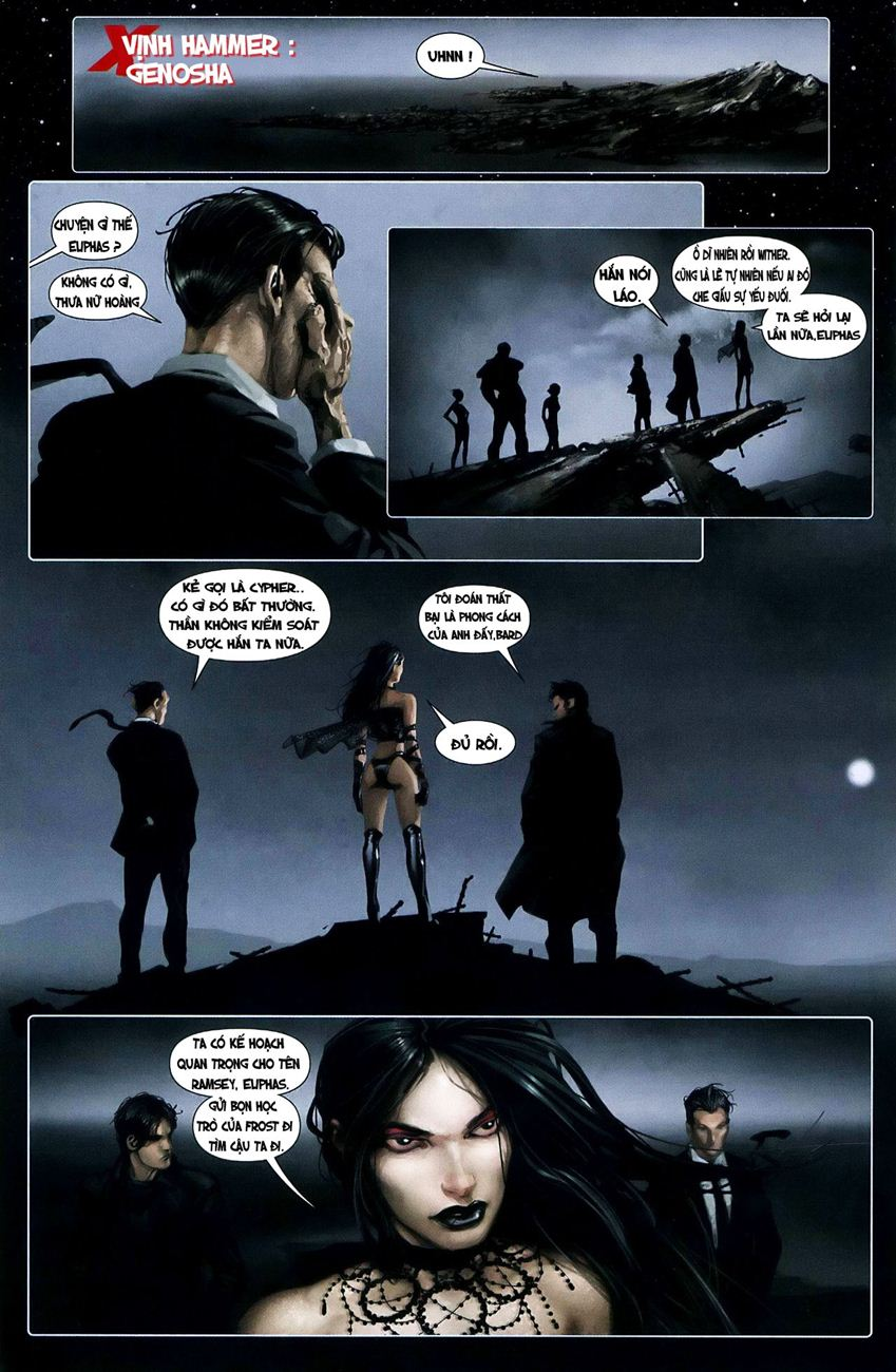 X-Men Necrosha chap 3 trang 9